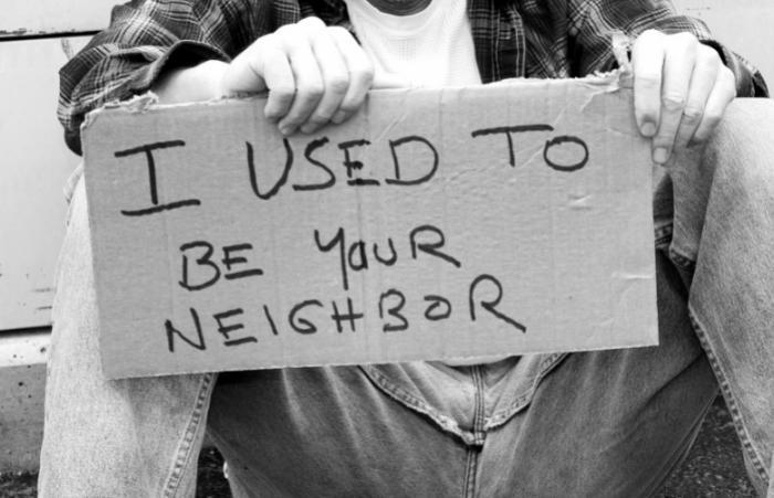 HOMELESS PEOPLE: