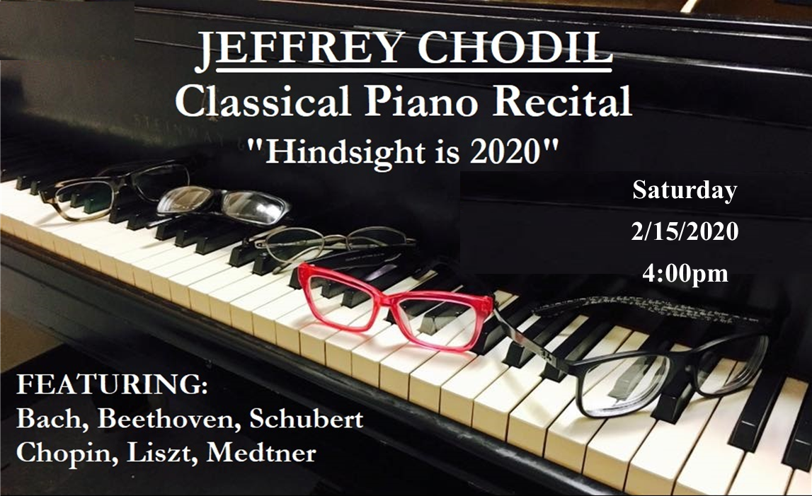 Classical Piano Recital – held February 15