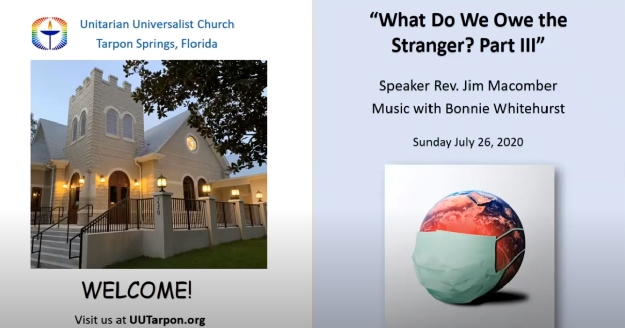 July 26th Service