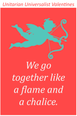we go together like flame and chalice